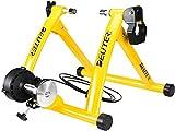 Bicicleta de Entrenamiento Plegable de Acero con Cierre rápido, Base para Rueda Delantera, para Entrenamiento de Bicicleta de 26 a 29 Pulgadas, para casa o Interior Red